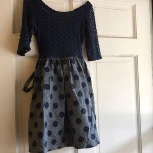 Blue Girls Dress Size 10